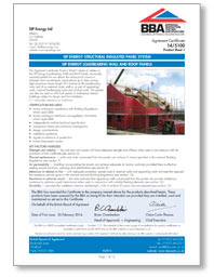 SIP Energy Ltd SIP ENERGY STRUCTURAL INSULATED PANEL SYSTEM